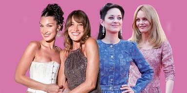 Bella Hadid, Carla Bruni, Marion Cotillard und Vanessa Paradis