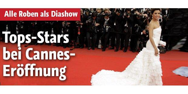 Star-Diven glänzen bei Cannes-Auftakt