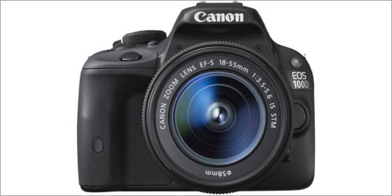 Canon EOS 100D - kleinste DSLR der Welt