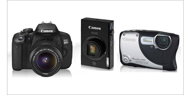Canon bringt 3 neue Digicams an den Start