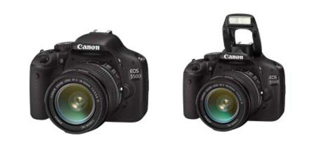 Canon präsentiert die neue EOS 550 D