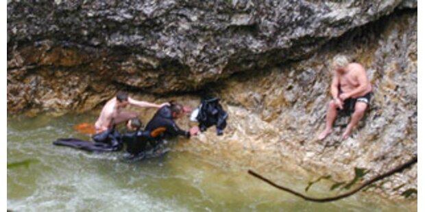 Feuerwehr rettete Canyoning-Sportler