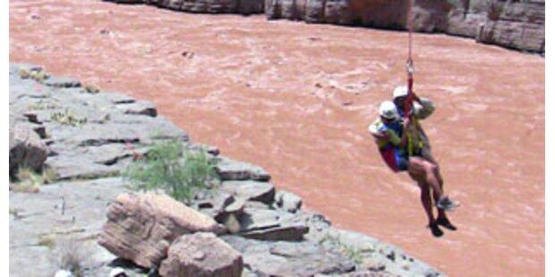 Indianerdorf wurde im Grand Canyon evakuiert