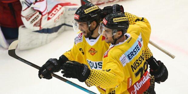 Eishockey: Caps gewinnen auch 11. Saisonspiel