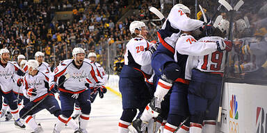 Capitals werfen Champion Boston raus