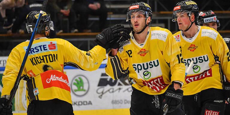 Capitals gewannen in Dornbirn mit 4:2