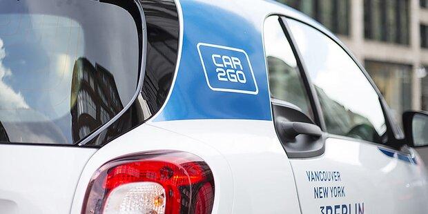car2go hat schon 138.000 Kunden in Wien