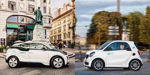 car2go & DriveNow-Fusion verzögert sich