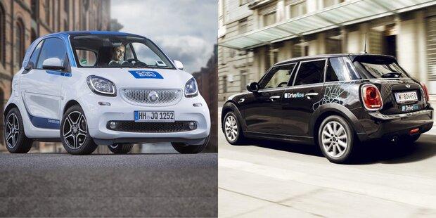Jetzt fix: car2go & DriveNow fusionieren