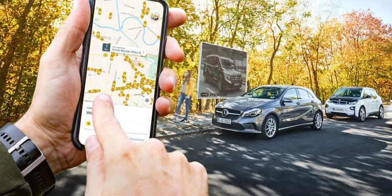 Daimler & BMW bauen Carsharing-Zentrale
