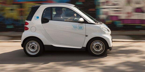 car2go stellt Wiener Flotte auf E-Autos um