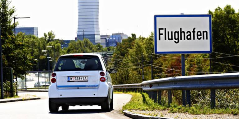 car2go reicht jetzt bis zum Flughafen Wien