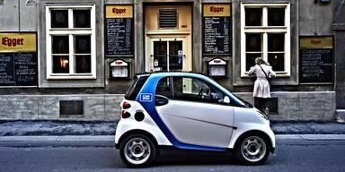 Smart mit car2go-Start in Wien zufrieden