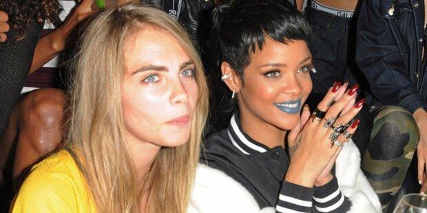 Cara & Rihanna: Chaos-WG in New York
