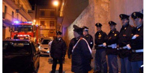24 Mafia-Bosse auf Sizilien festgenommen