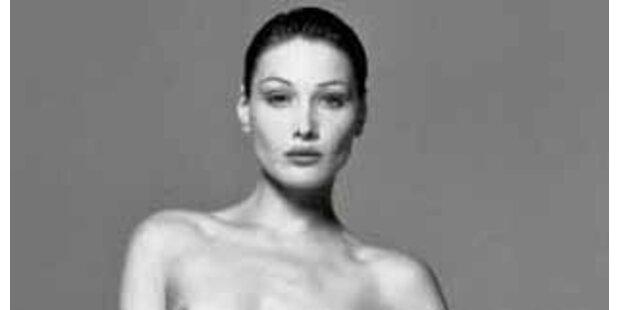 Heute wird Nacktbild von Bruni versteigert