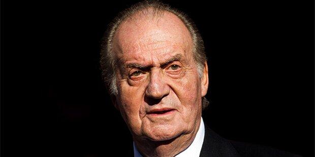 Juan Carlos unbeliebter als Finanzbeamte