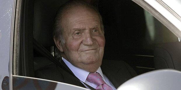 Juan Carlos: Hüft-OP gut verlaufen