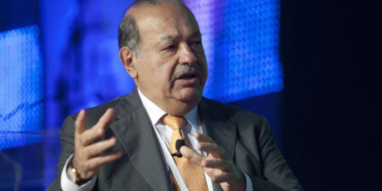 Telekom: Großaktionär Slim hält 26,8 Prozent