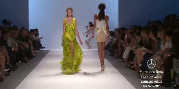 New York Fashion Week S/S 2011: Carlos Miele