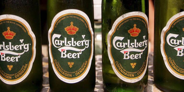 Carlsberg: Putzmittel in 140.000 Liter Bier