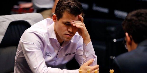 Norweger Carlsen erneut Schach-Weltmeister