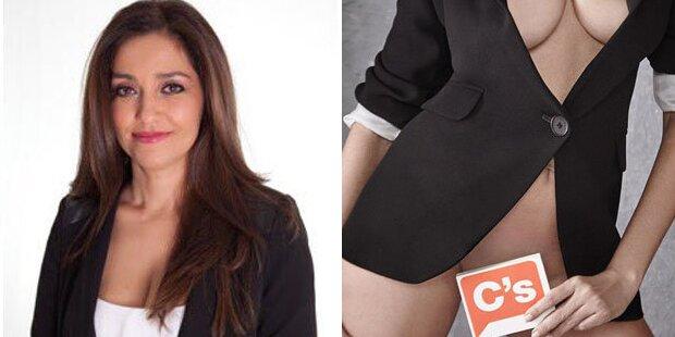 Heiße Politikerin strippt für ihre Wähler