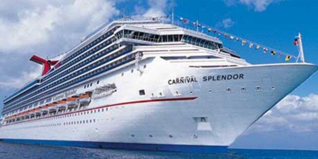 Kreuzfahrtschiff wieder sicher im Hafen