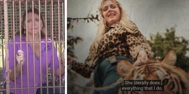 'Tiger King'-Star Carole: 'Meistgehasste Person der Welt'