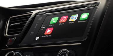 Apple kommt jetzt ins vernetzte Auto