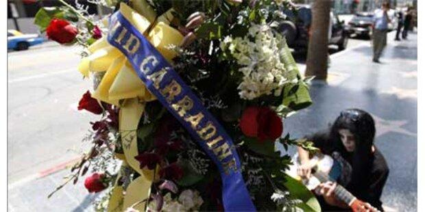 Hunderte bei Trauerfeier für Carradine