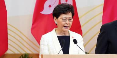 """Hongkongs Regierungschefin bezeichnet Auslieferungsgesetz als """"tot"""""""