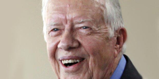 Ex-US-Präsident Carter in Spital eingeliefert