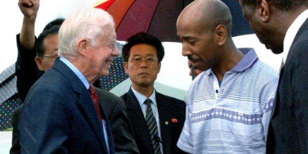 Carter befreit US-Bürger aus Nordkorea