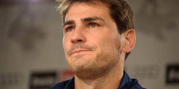 Casillas: Karriereende nach Herzinfarkt
