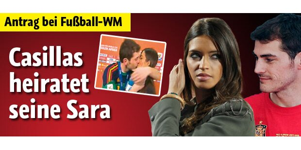 WM-Torwart Casillas heiratet seine Sara
