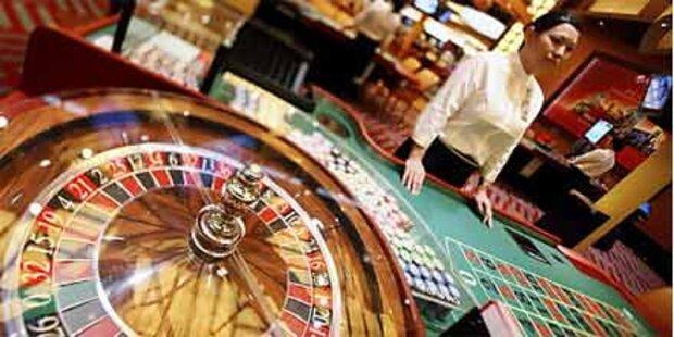 Casino-Raub: Flucht durch Grenzzaun-Tor