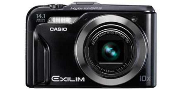 Erste Digitalkamera mit Hybrid-GPS System