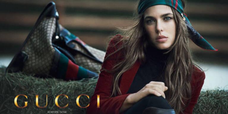 So macht sich Charlotte Casiraghi als Model