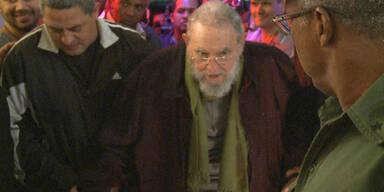 Fidel Castro: 1. Auftritt nach Monaten