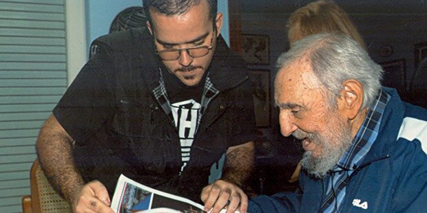 Kuba zeigt Bilder Fidel Castros