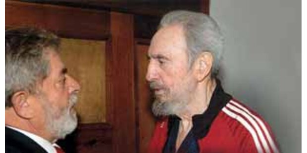 Brasilianischer Präsident besuchte Fidel Castro