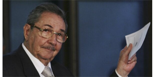 Raul Castro ist neuer Präsident Kubas