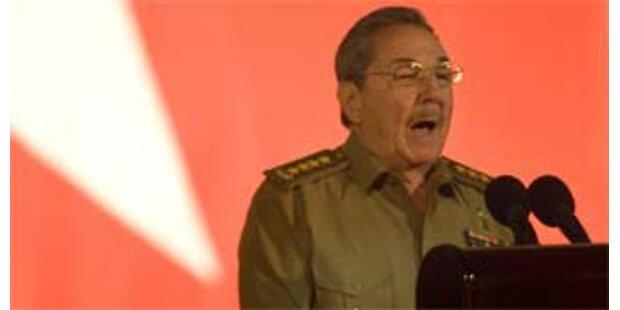 Castro rechnet mit weiteren Konflikten mit den USA