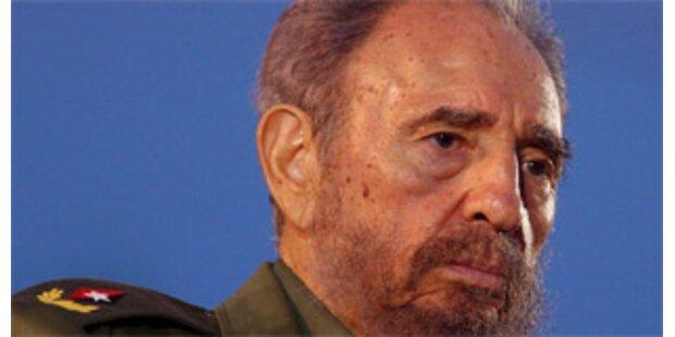 Fidel Castro soll zu Fuß durch Havanna gelaufen sein