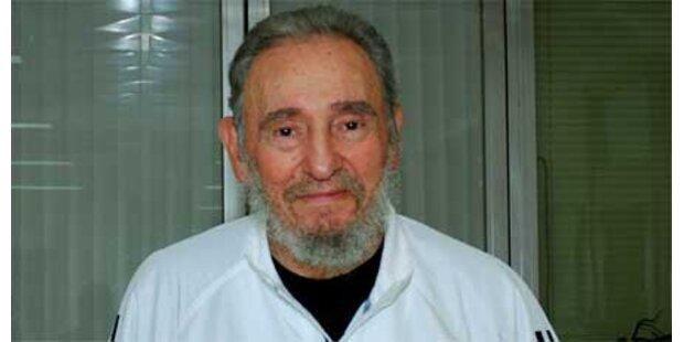 Fidel Castro bei bester Gesundheit