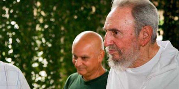 Fidel Castro zeigt sich in Öffentlichkeit