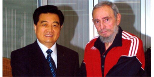 Fidel Castro wirkt kraftlos und leer