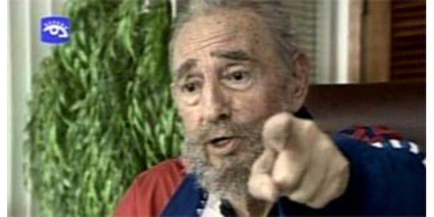 Castro übte mit Hemingways Gewehr schießen