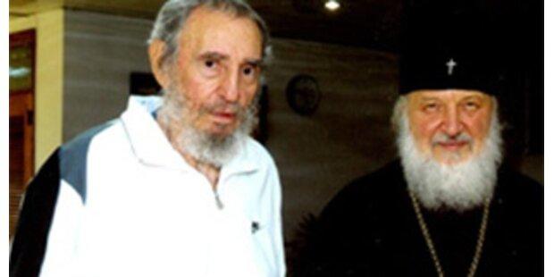 Fidel Castro traf russisch-orthodoxen Metropoliten
